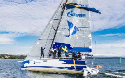 Team Sweden wins leg home in Volvo Ocean Race conditions
