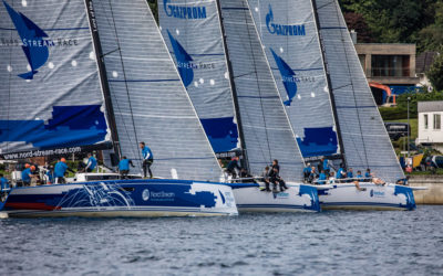Swedes lead out of Kiel as 1000 mile Nord Stream Race sets sail